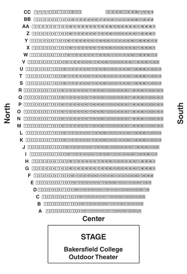 World Records - BC Outdoor Theater Seating Chart
