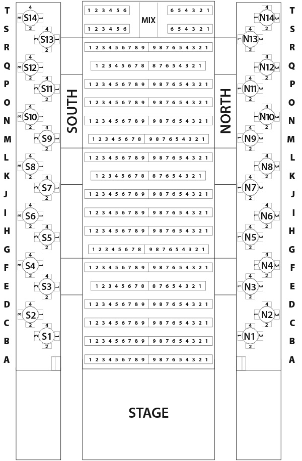 World records - Seating Chart