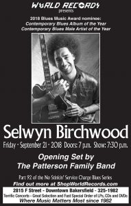 World records - Selwyn Birchwood