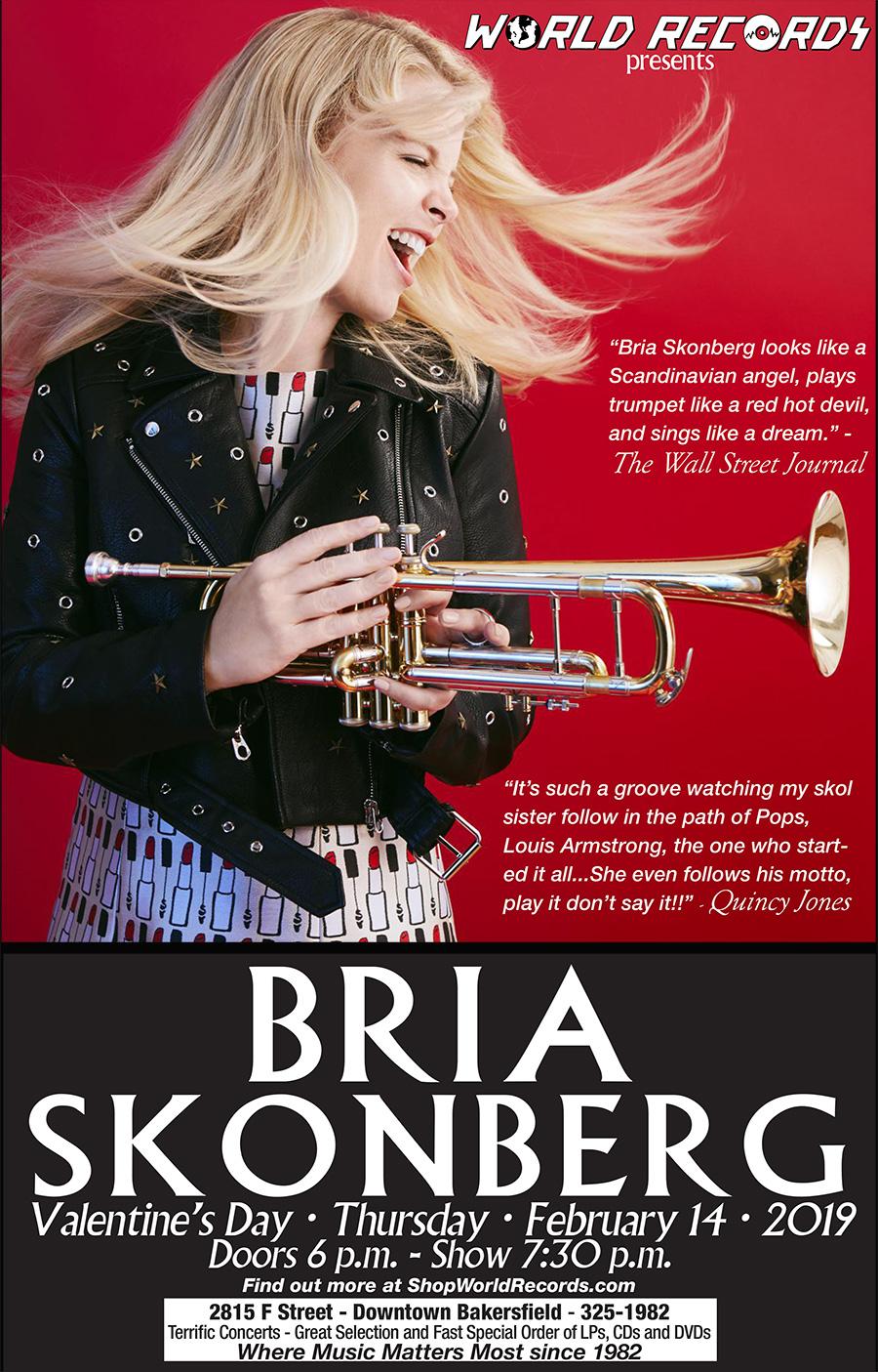 World Records - Bria Skonberg